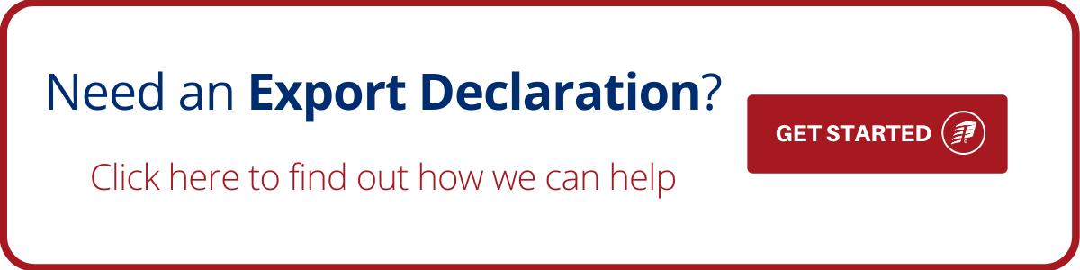 export declaration