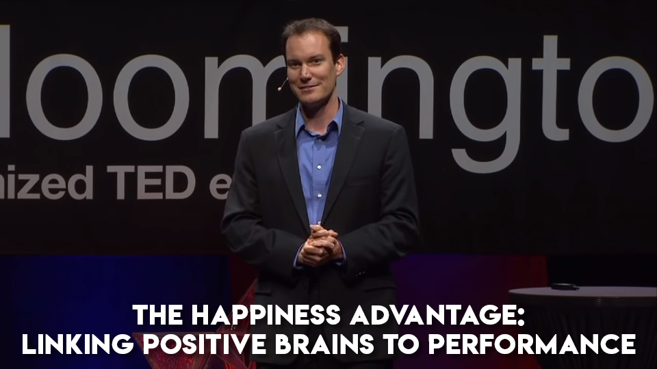 Shawn Achor: The happy secret to better work | TED Talk
