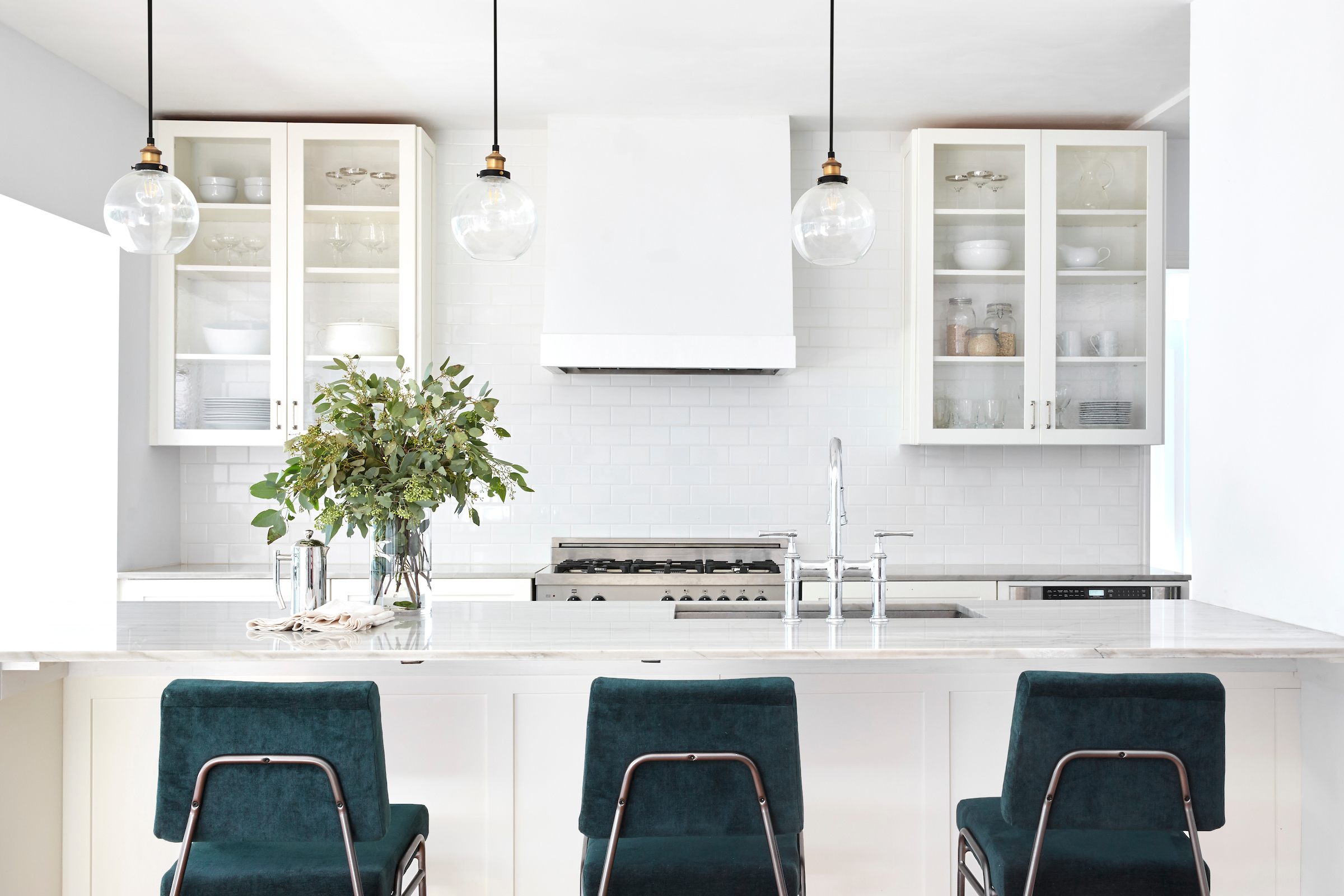 Residential kitchen remodel in the hills of Oakland, California