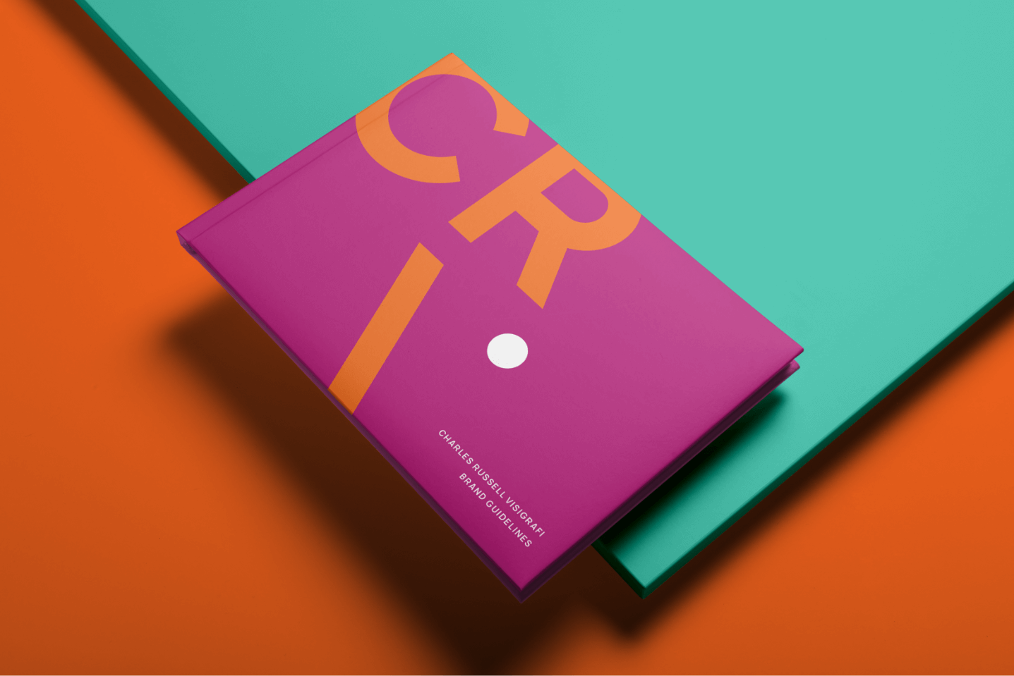 Creative Caterpillar client Charles Russell Visigrafi business cards application.