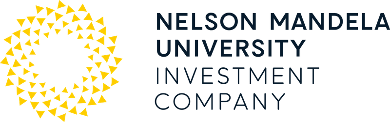 Creative Caterpillar client Nelson Mandela University Investment Company linear logo.
