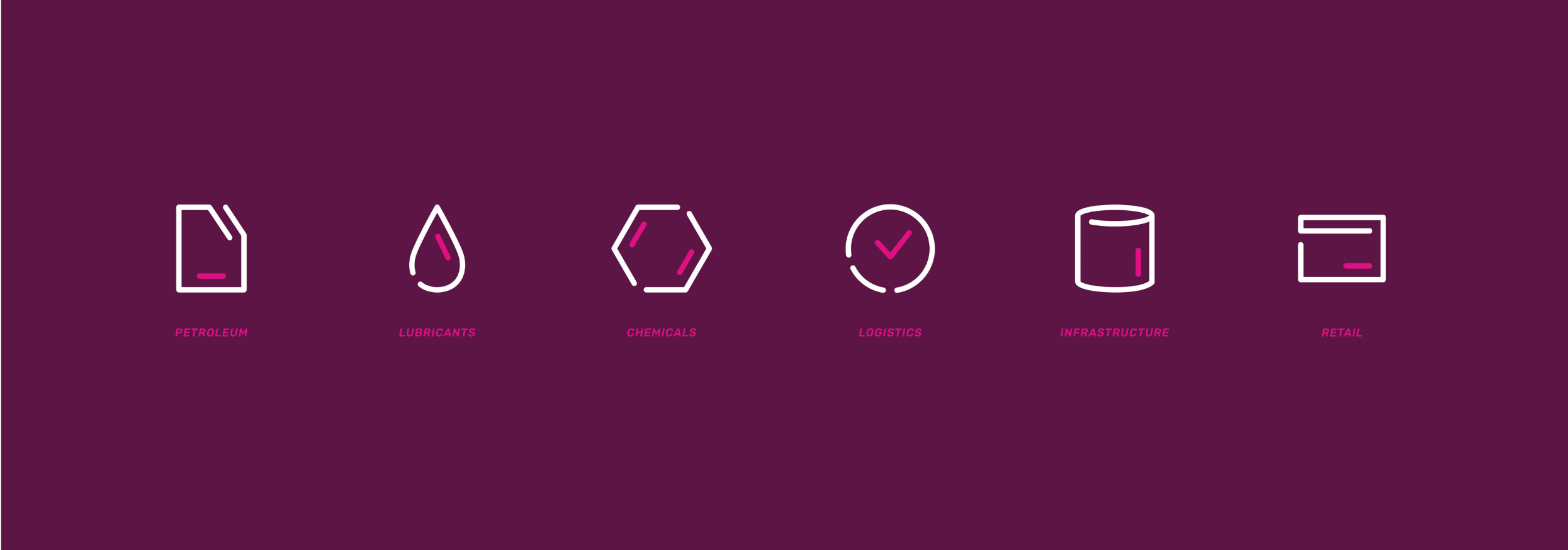 Creative Caterpillar client Tipublox Energy Group icons.