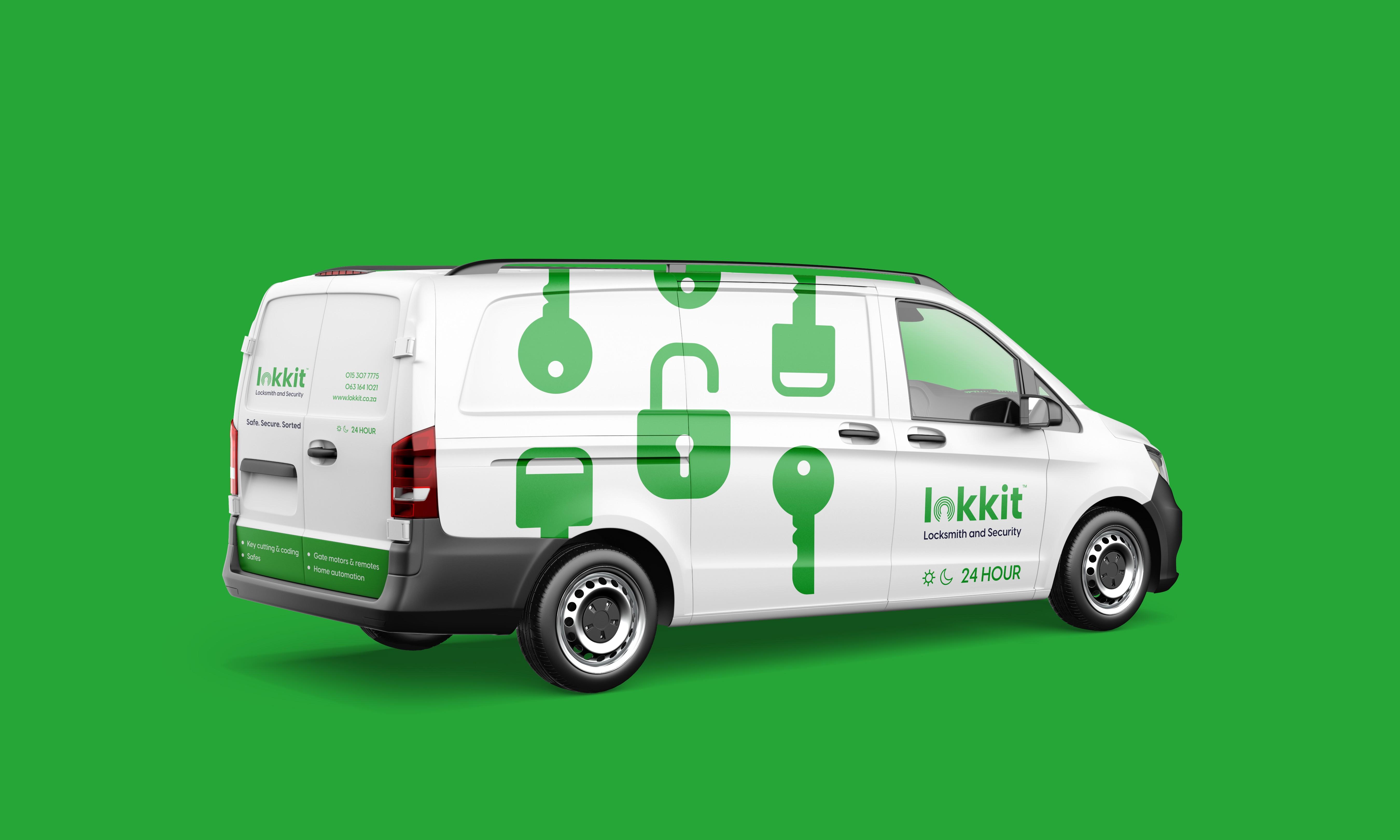 Lokkit Locksmith Vehicle Branding