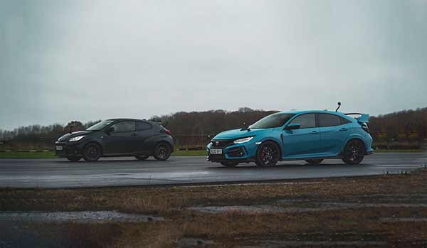 Civic Type R vs Toyota GR Yaris