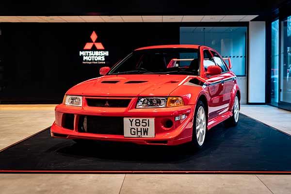 Flota de clásicos Mitsubishi UK