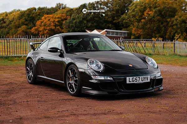 Porsche 911 GT3 con más de 270.000 km