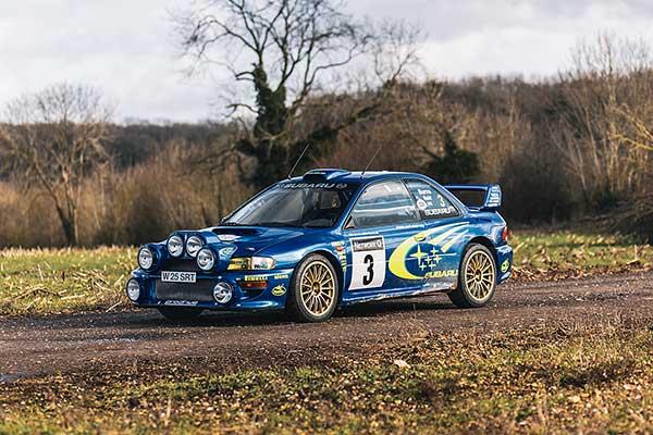 Subaru Impreza S6 WRC Richard Burns
