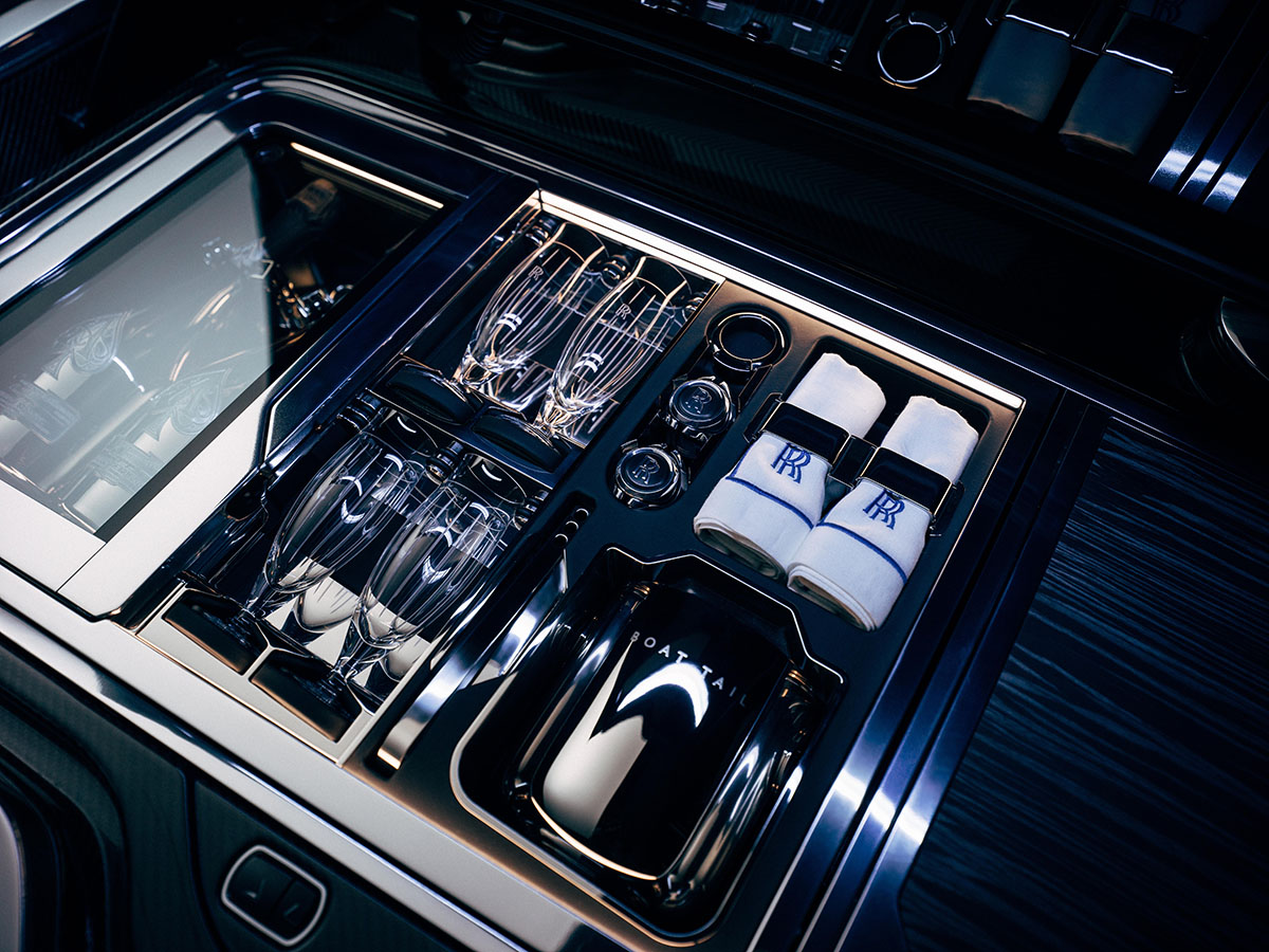 Frigorífico Rolls-Royce Boat Tail