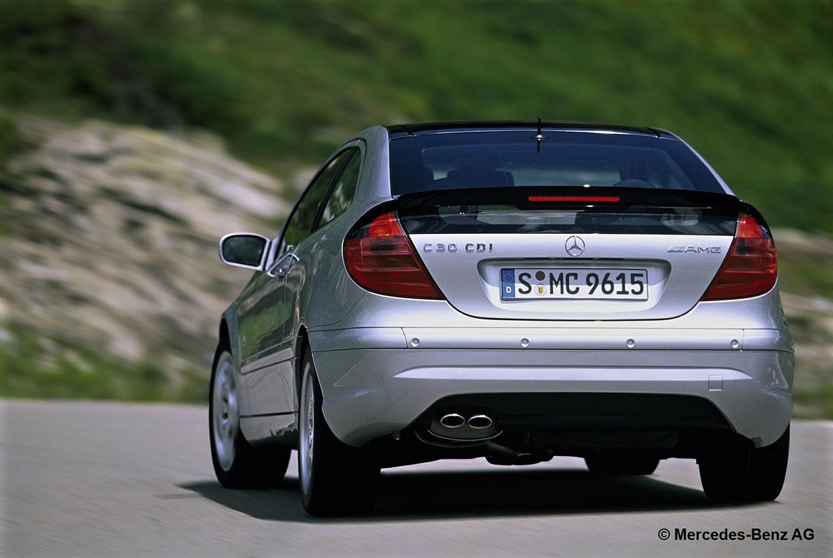 Mercedes C30 CDI AMG Sportcoupé