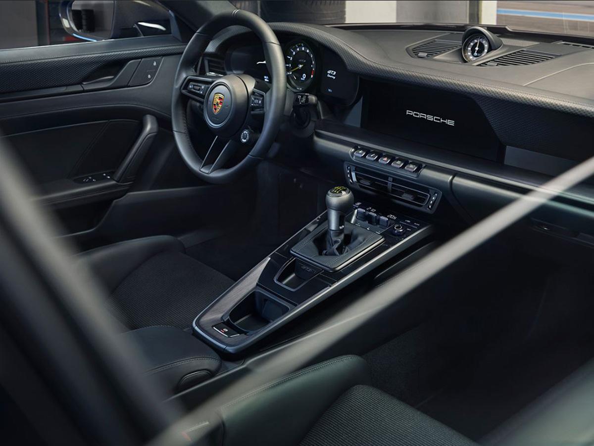 Interior Porsche 911 GT3 Touring 2021