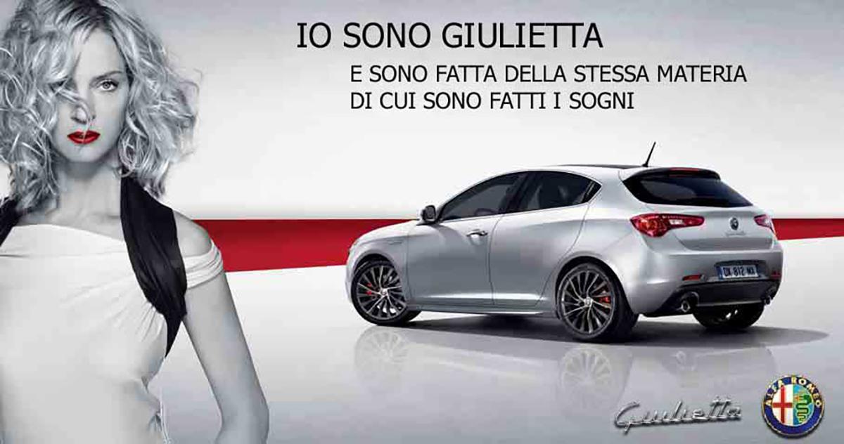 Anuncio Alfa Romeo Giulietta