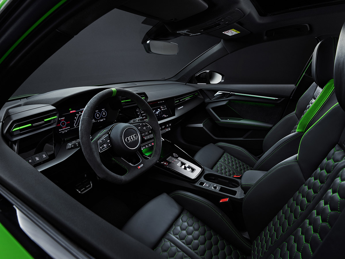 Interior Audi RS3 2022