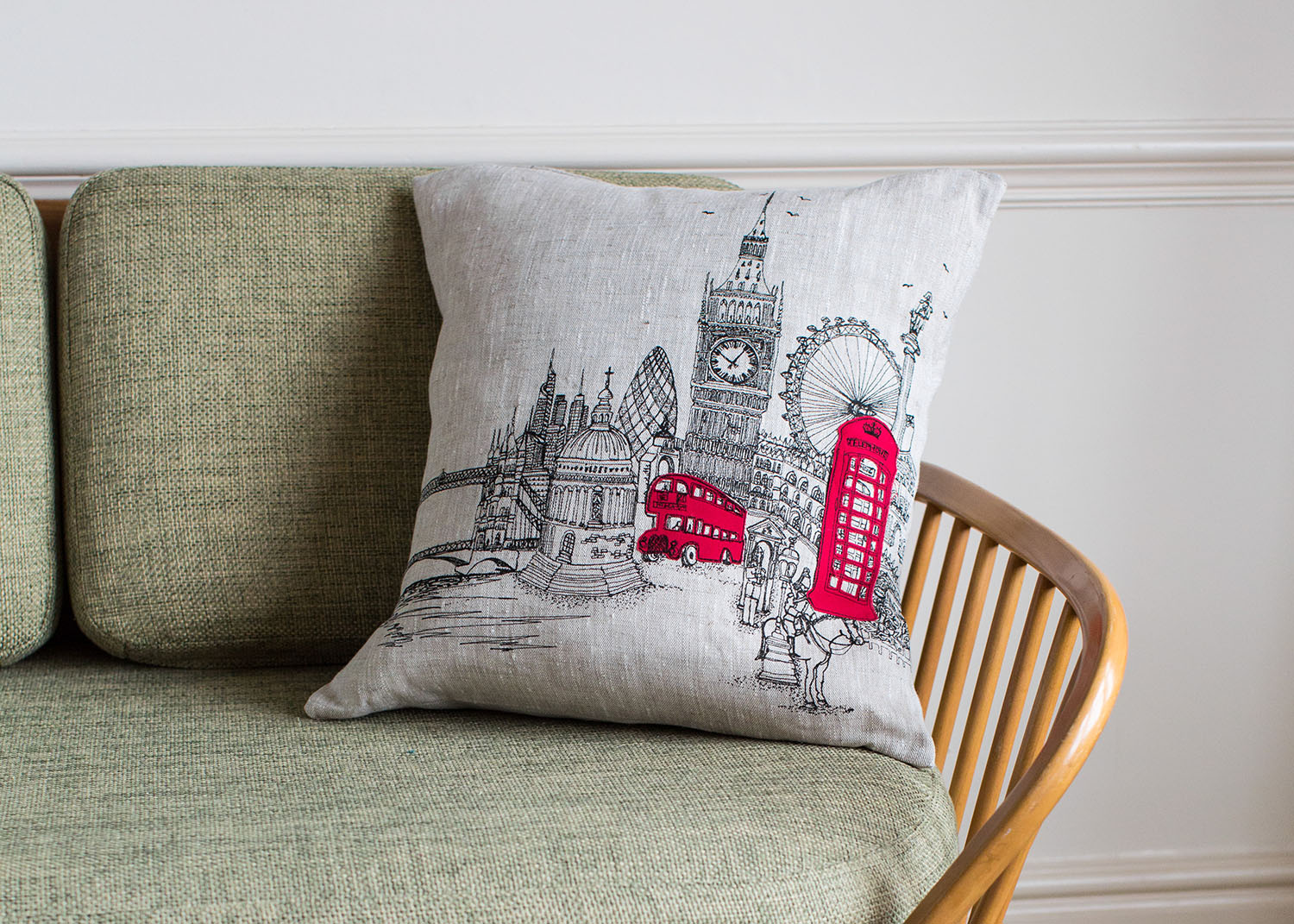London Landmarks Cushion