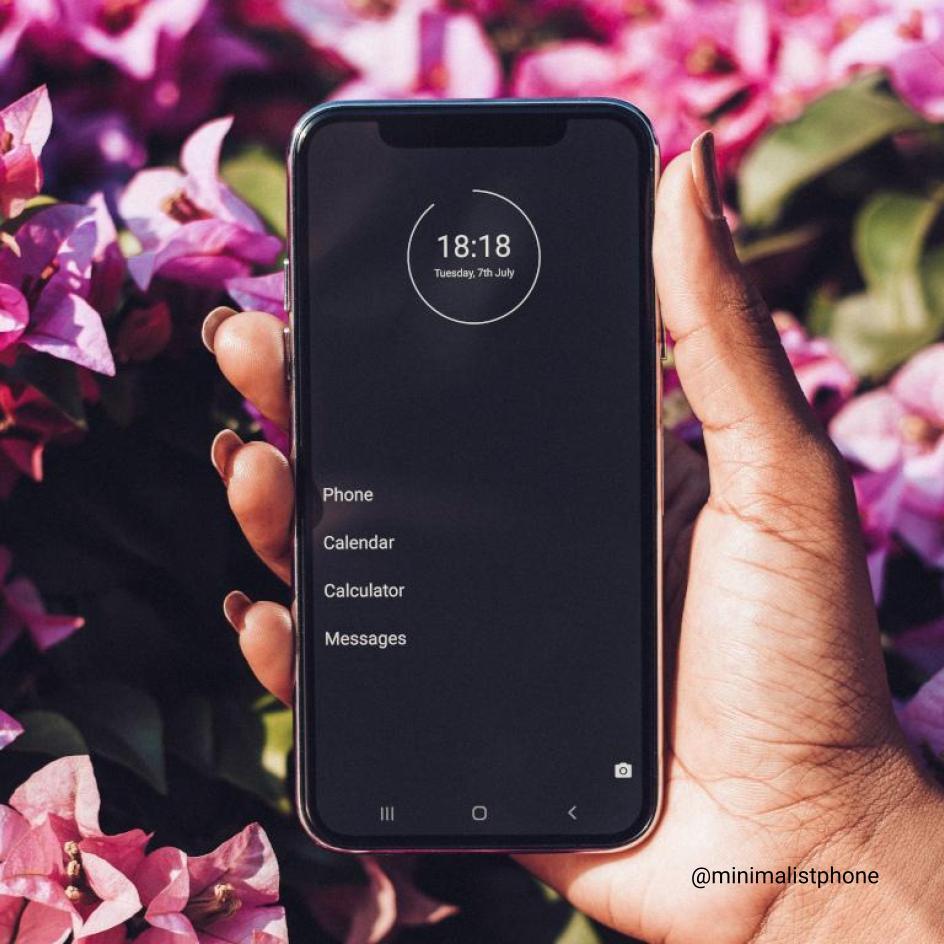 minimalist phone as an alternative to dumb phone