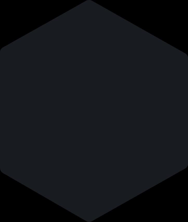 Black Hexagon Image