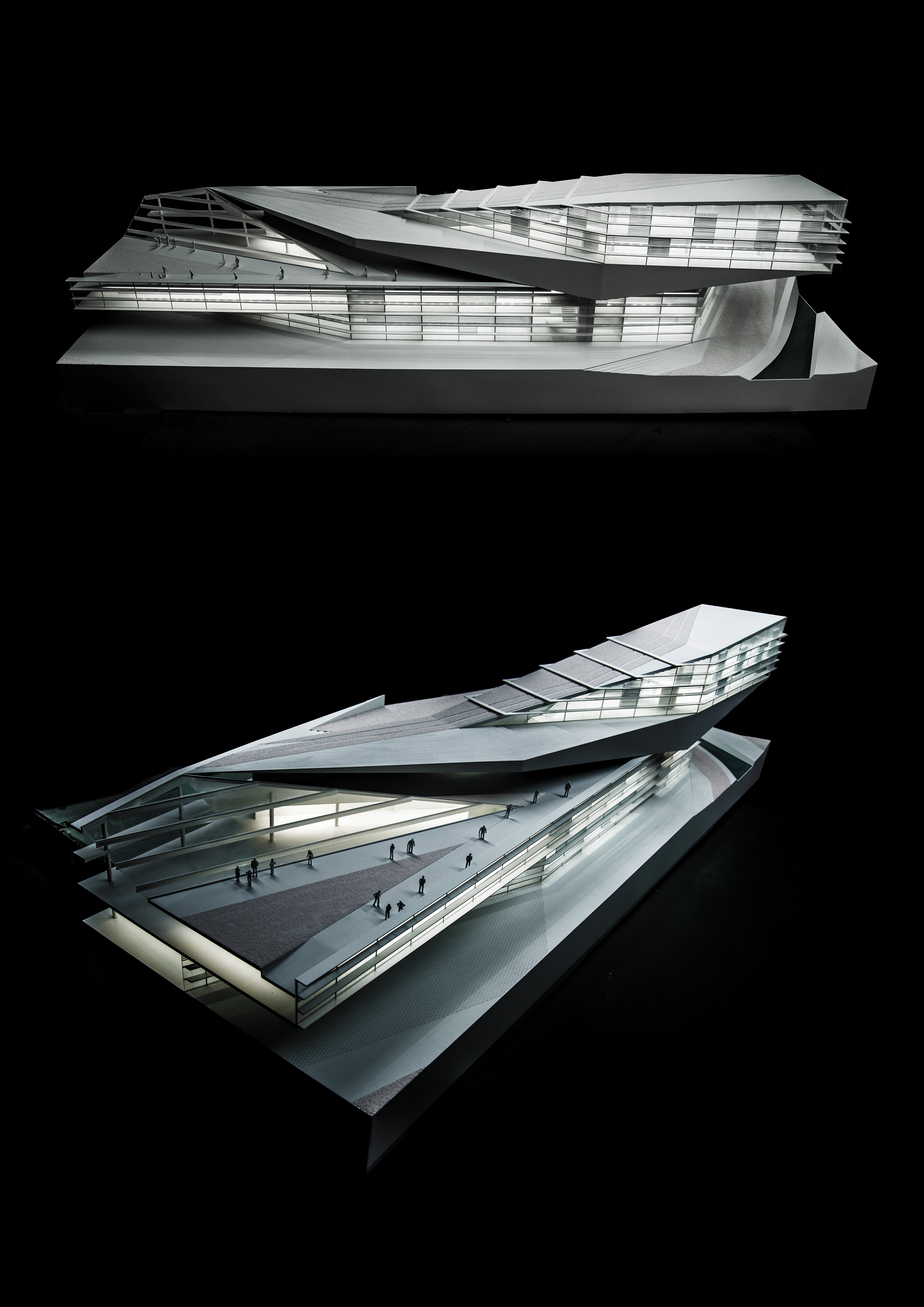 Izmir university Model,Plasma studio
