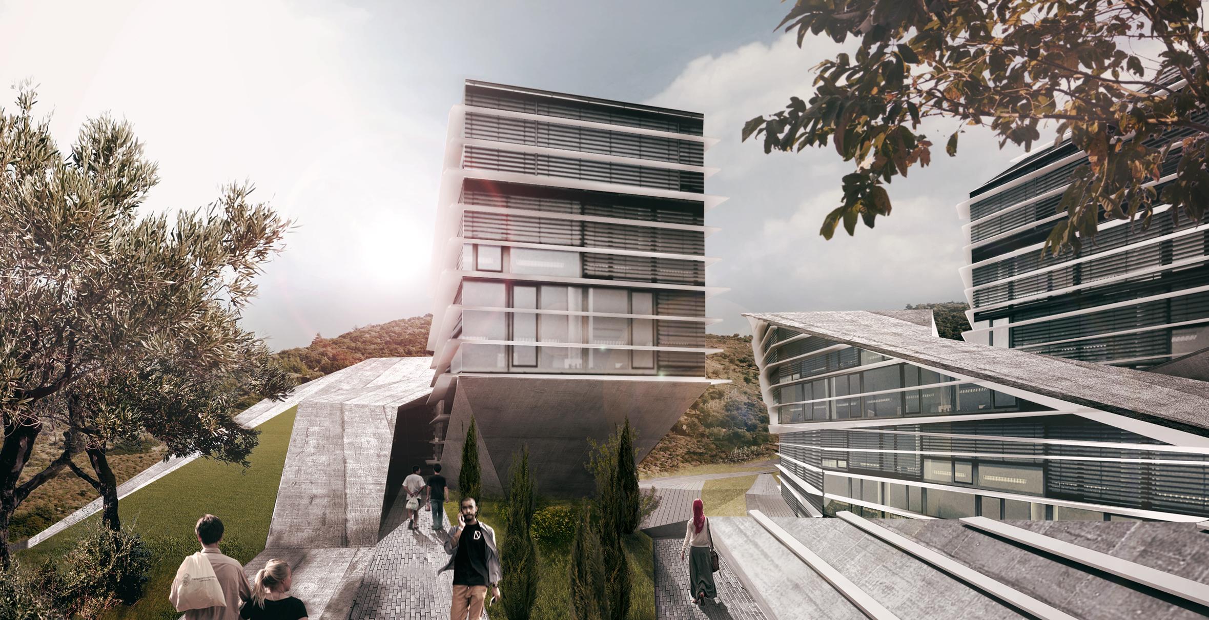 Izmir university render, Plasma studio