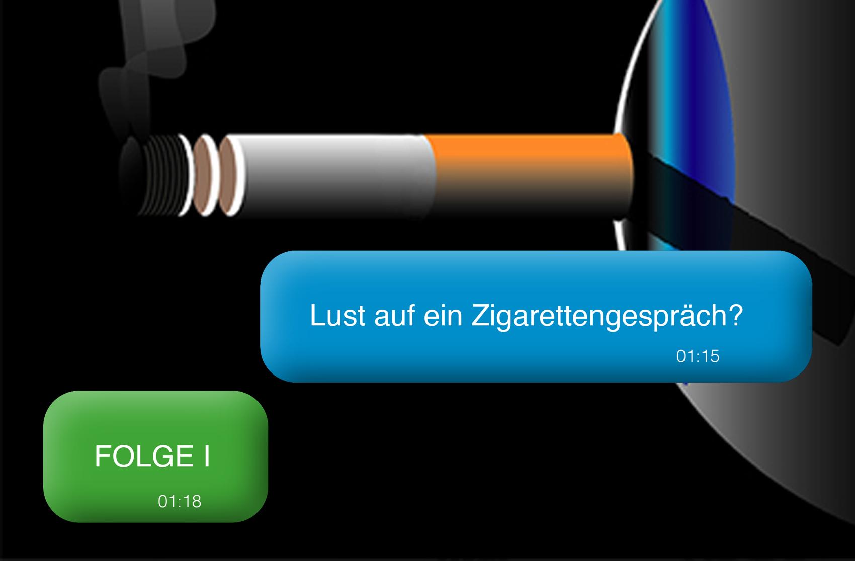 Lust auf ein Zigarettengespräch? VOL. 1