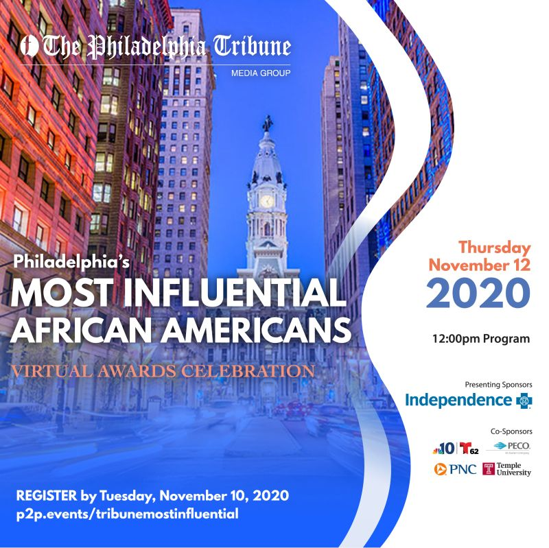 Philadelphia Tribune 2020 Most Influential African Americans