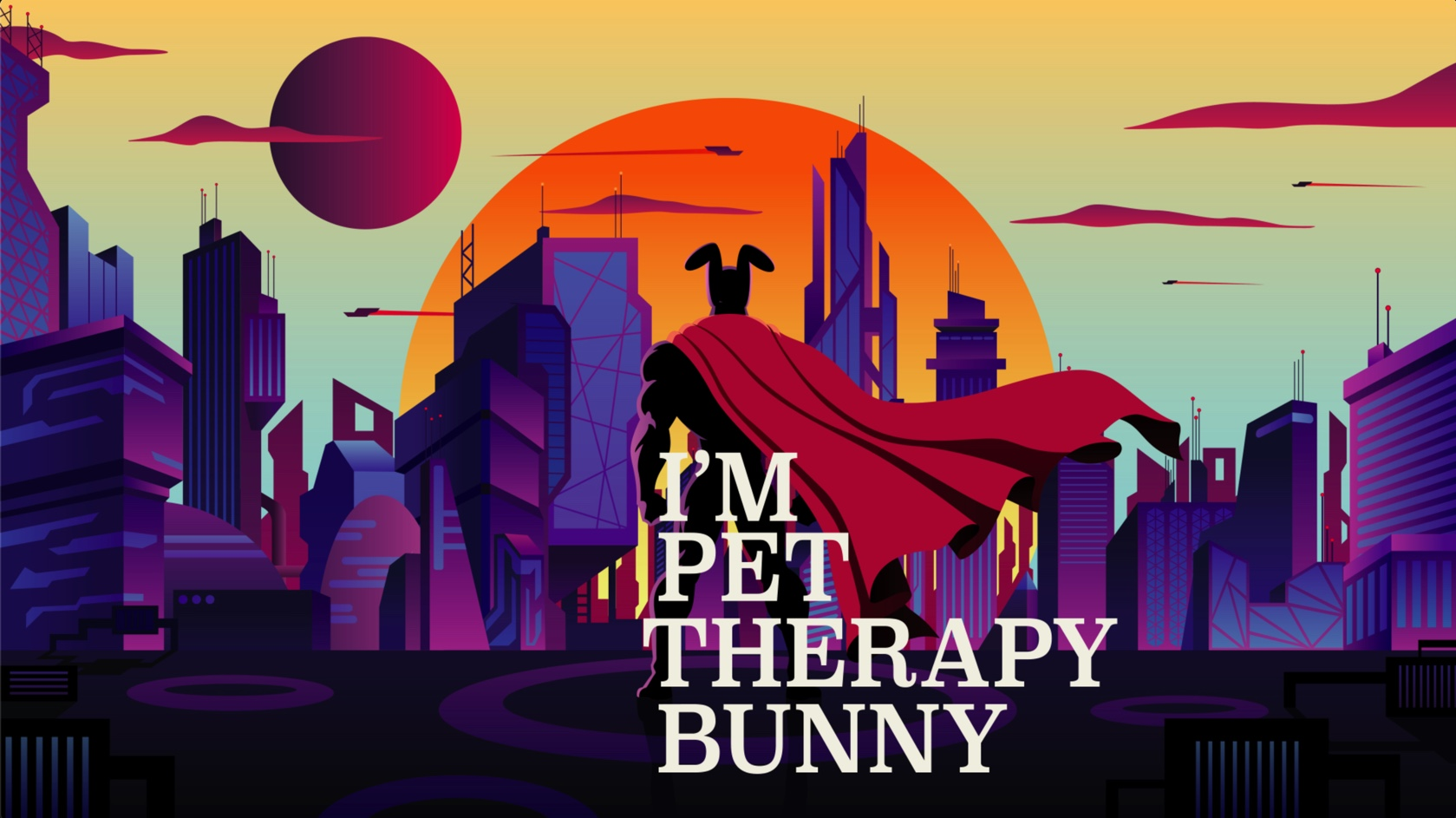 Screenshot of Pet Therapy Bunny video