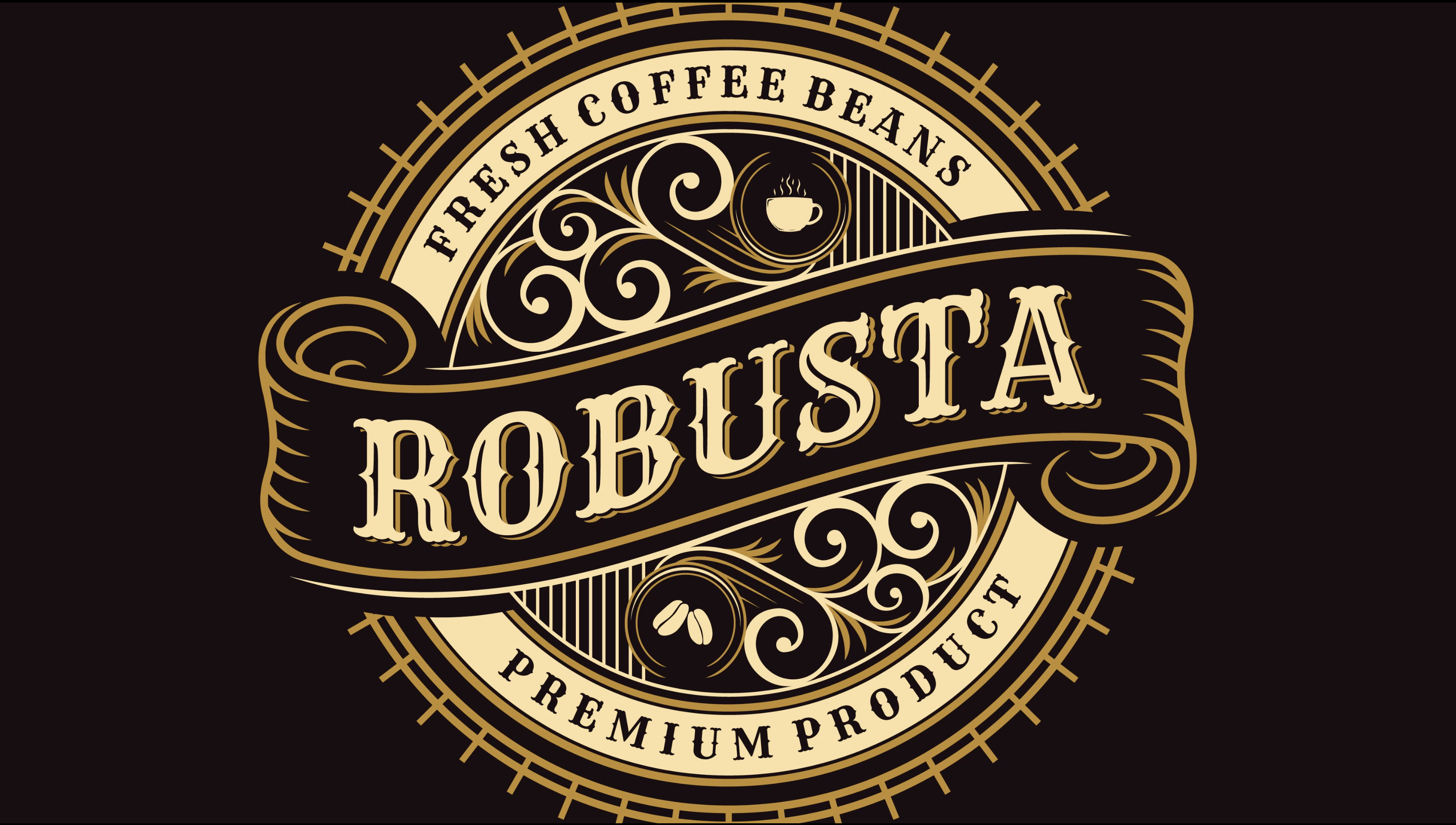 Screenshot of Adobe Stock Robusta Logo Design