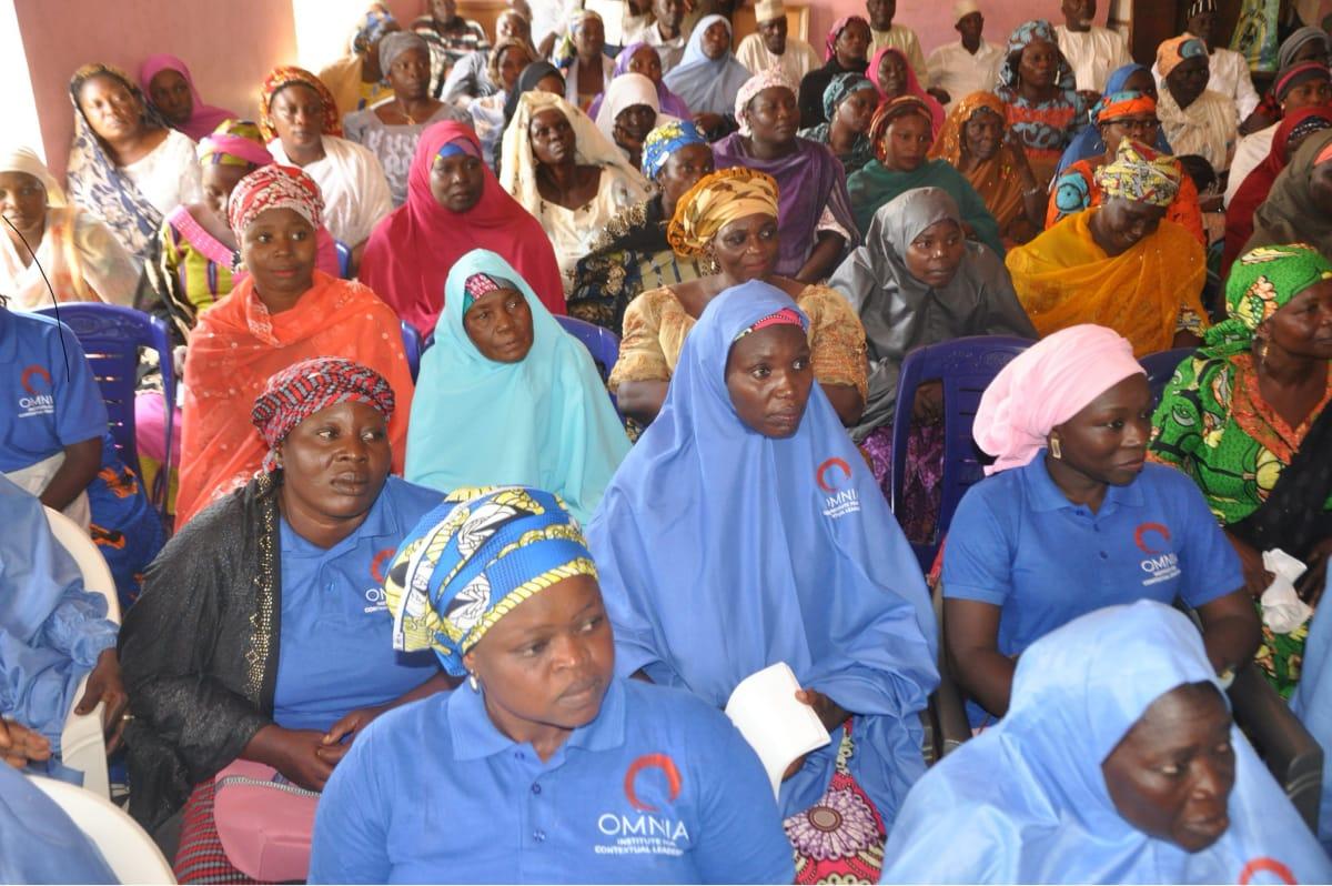 Women's Interfaith Peacemaker Team meeting in Kaltungo, Nigeria