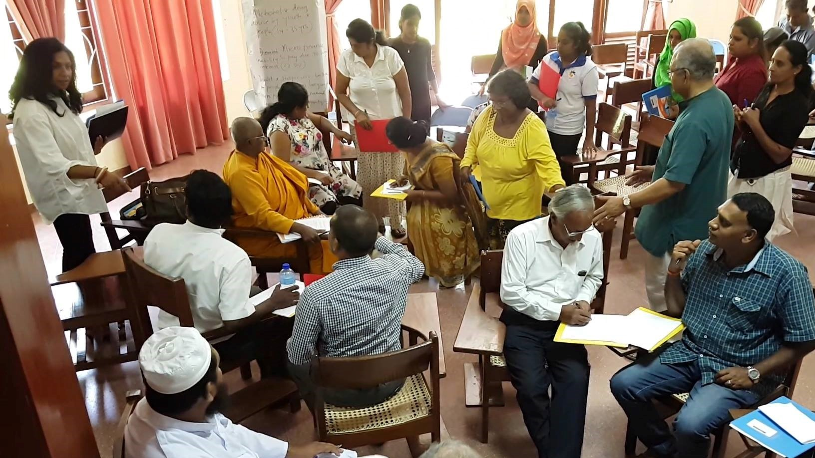 Interfaith Peacemaker team training in Kandy, Sri Lanka