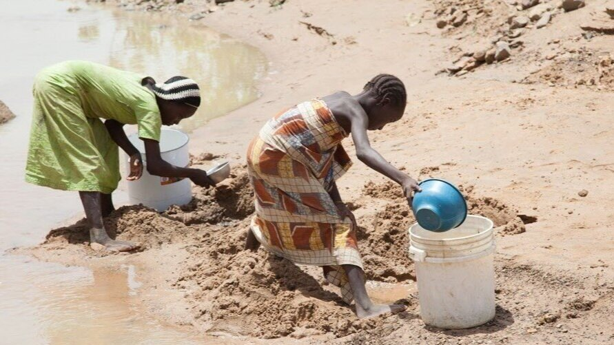 Finding clean water to wash hands can be a challenge in rural Nigeria