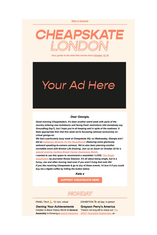 virtual events London