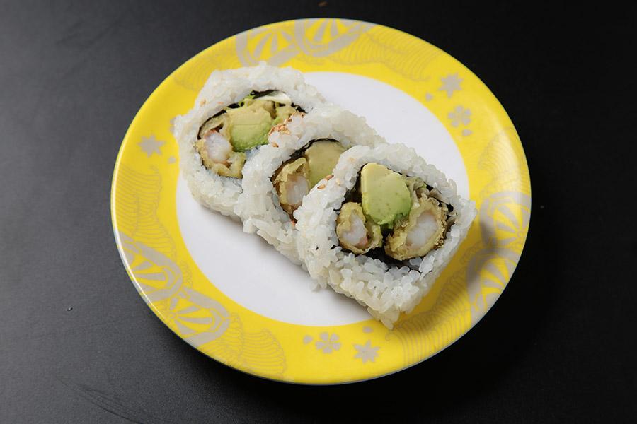 6 pcs deep fried shrimp tempura roll