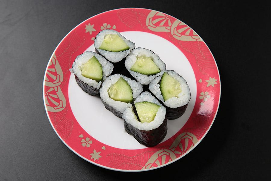 6 pcs cucumber roll