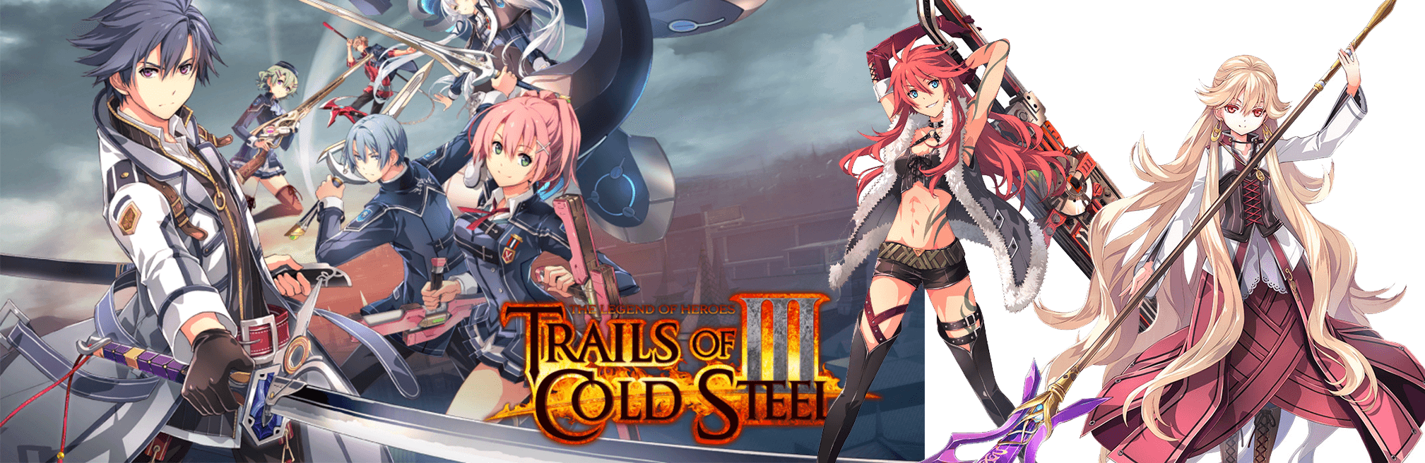 Trails of Cold Steel III Shirley Orlando Roselia