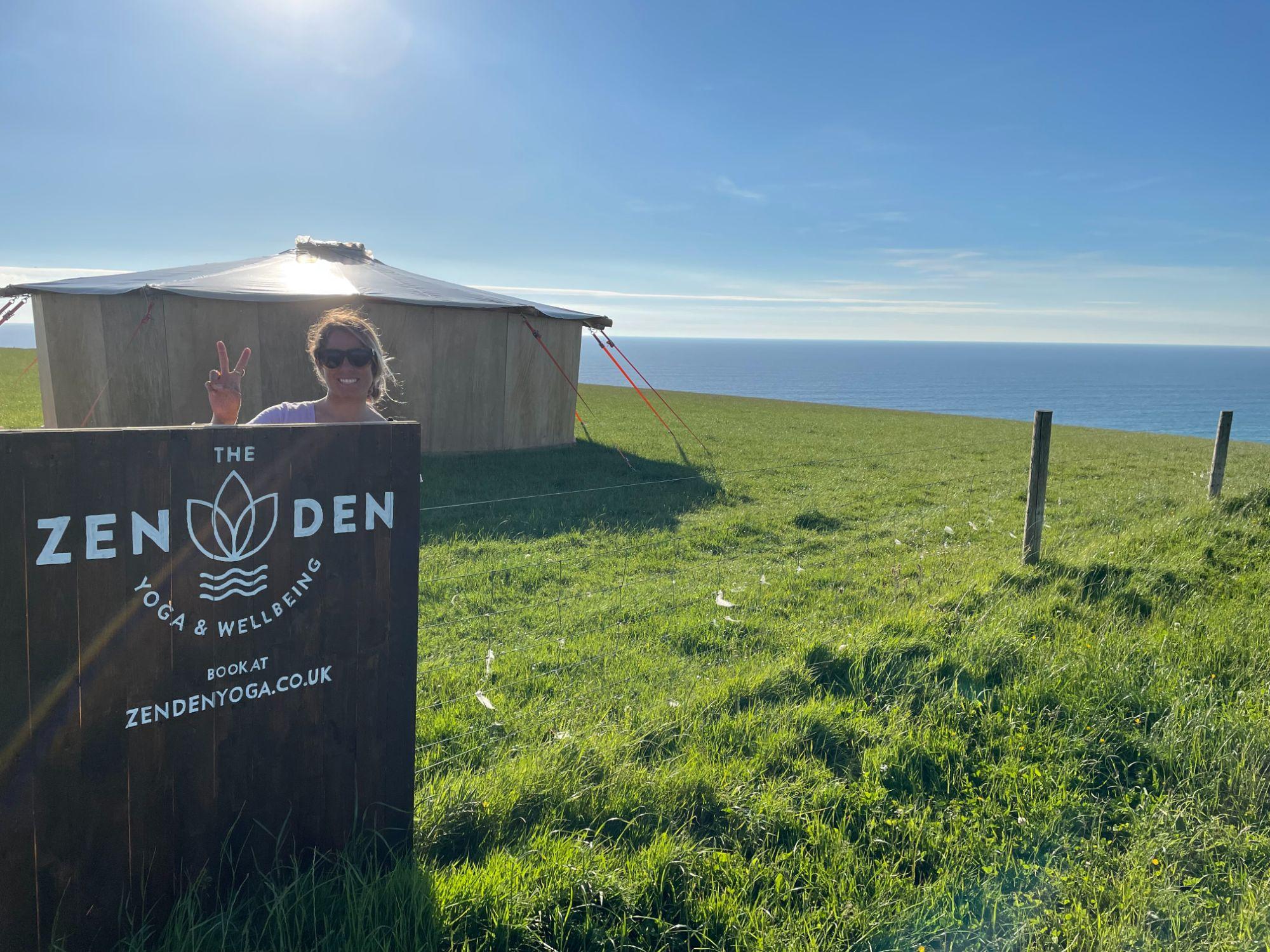 Watergate Bay Zen Den Yoga School Yurt