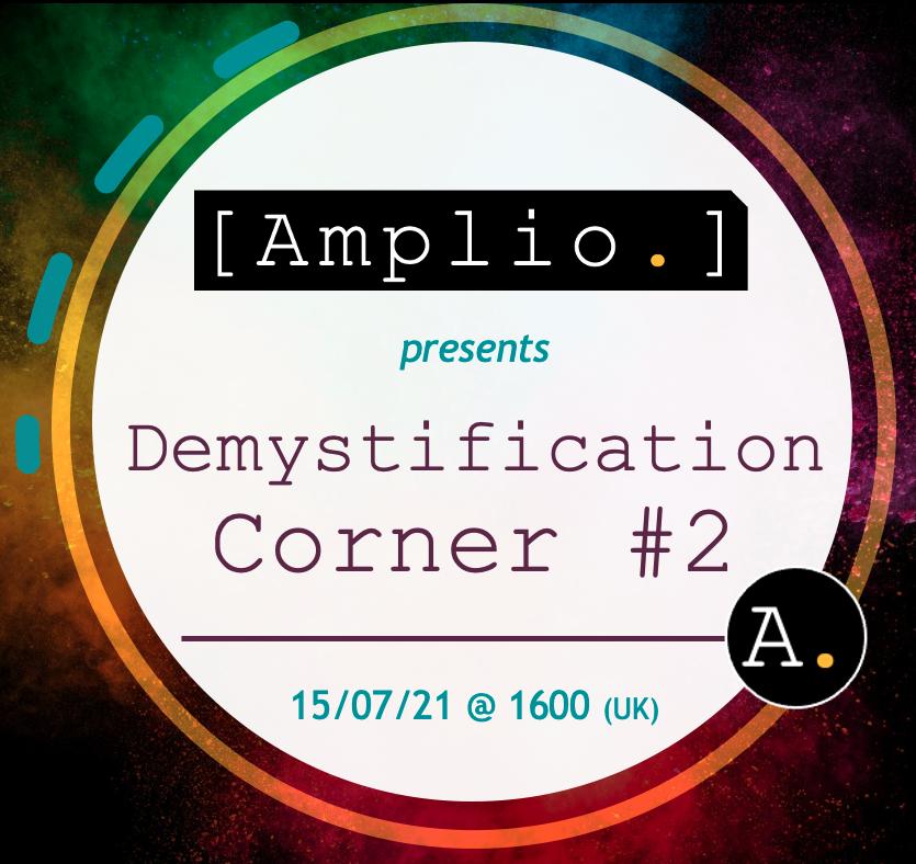 Amplio Technologies Demystification Corner #2 - Hyperautomation - 15/07/2021
