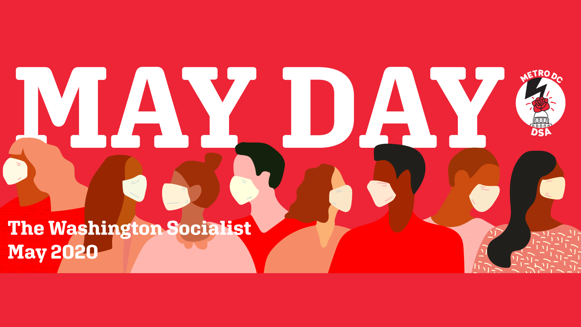 Washington Socialist May 2020 Cover