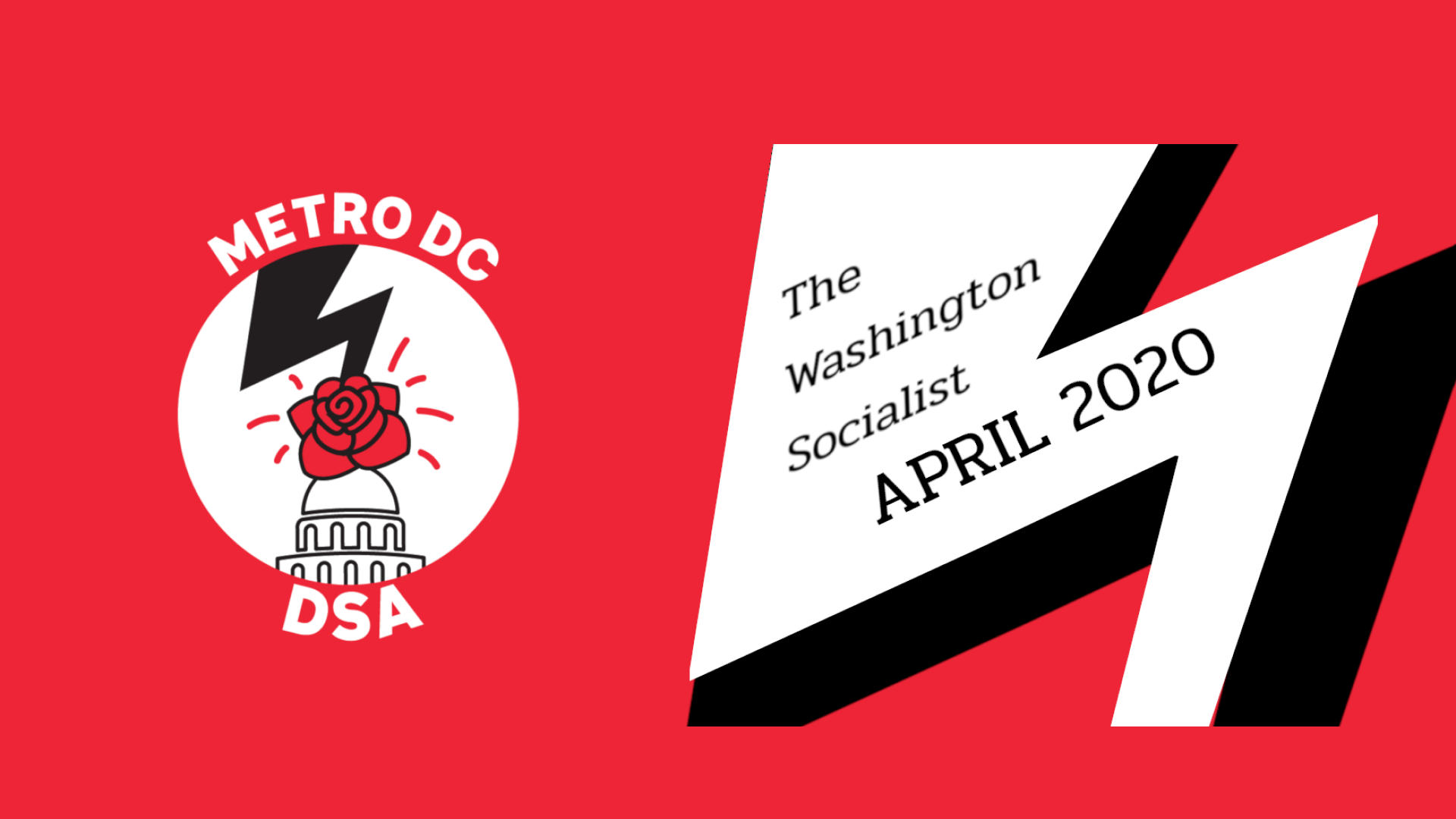 April 2020 Washington Socialist Cover