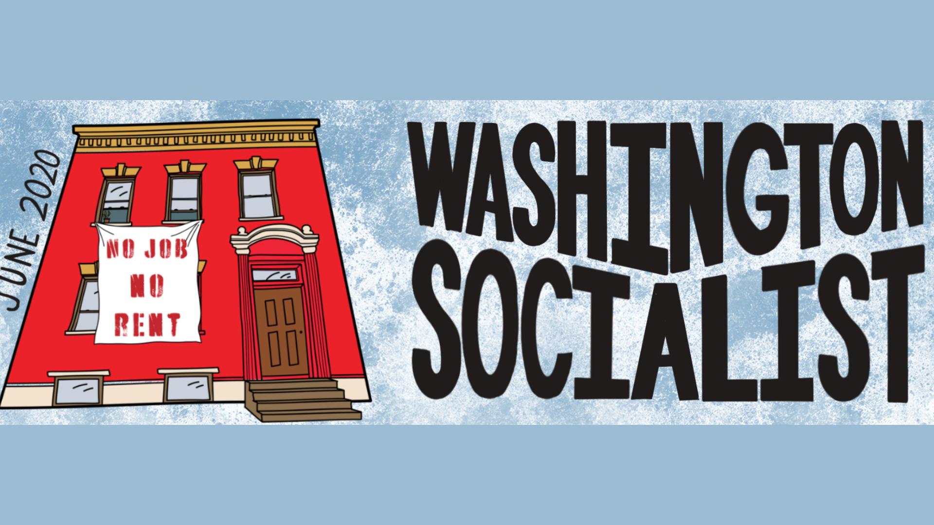 Washington Socialist June 2020 Cover
