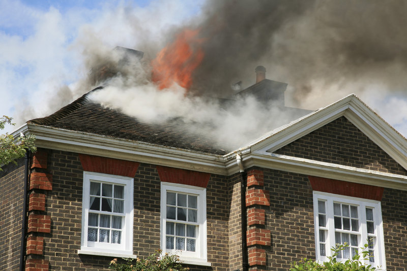 fire damaged house restoration
