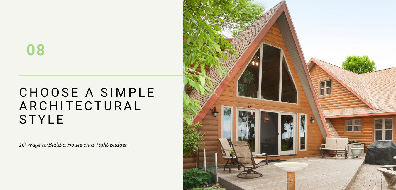 choose simple architecture