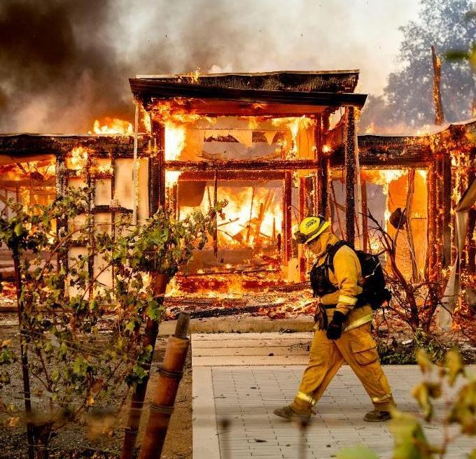 Southern California Fire Damage