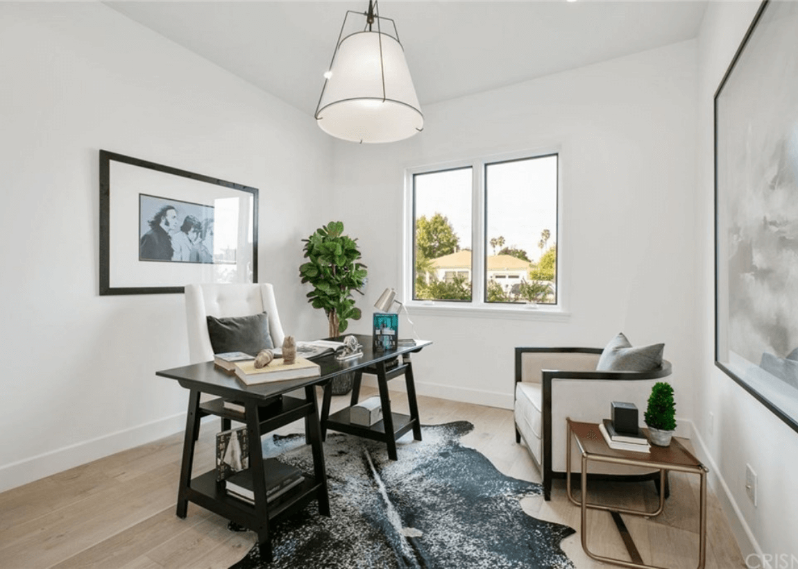 Custom Home Art Room