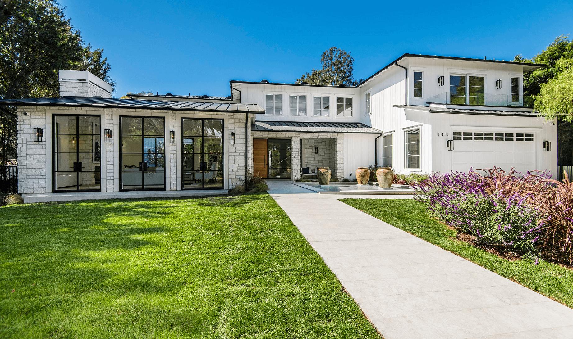 Custom Home Outside