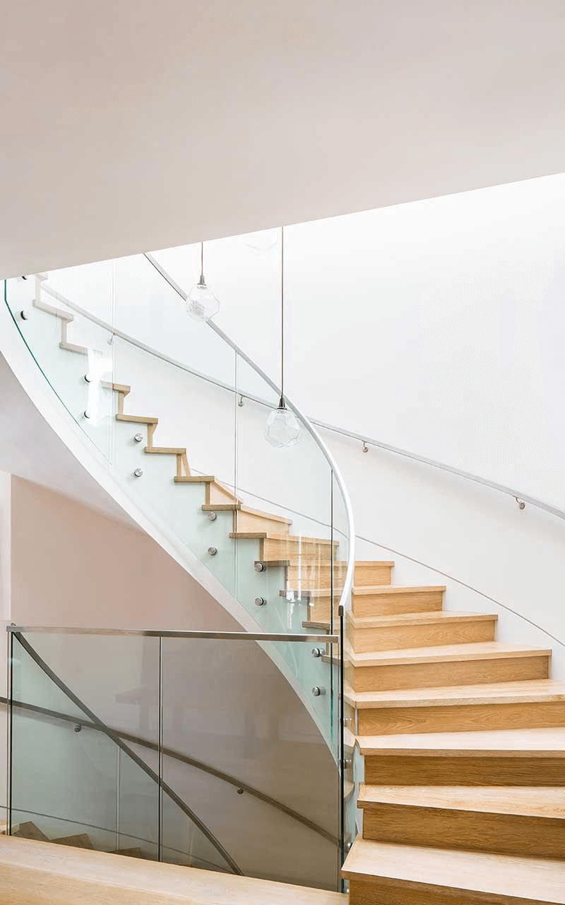 Custom Home Stair