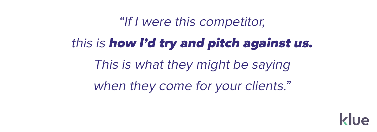 Customer success teams need to know how competitors are pitching against you in order to retain customers