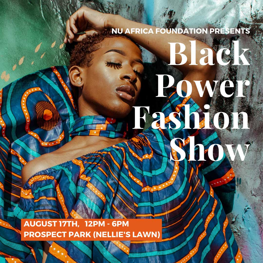 Nu Africa Foundation Black Power Fashion Show Ad