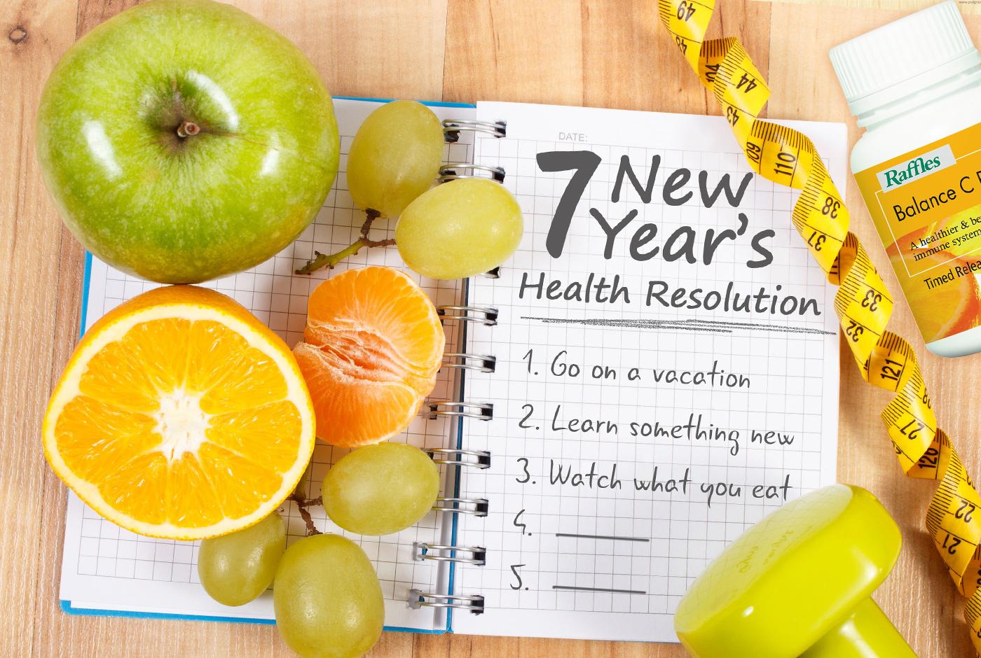 7 New Year's Health Resolution Ideas You Can Keep | | Raffles Health  Singapore