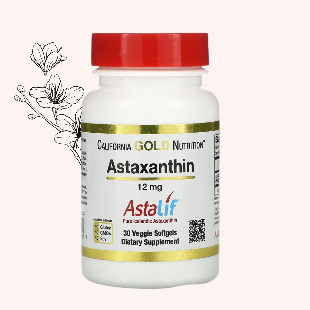 Scientifically Proven Astaxanthin