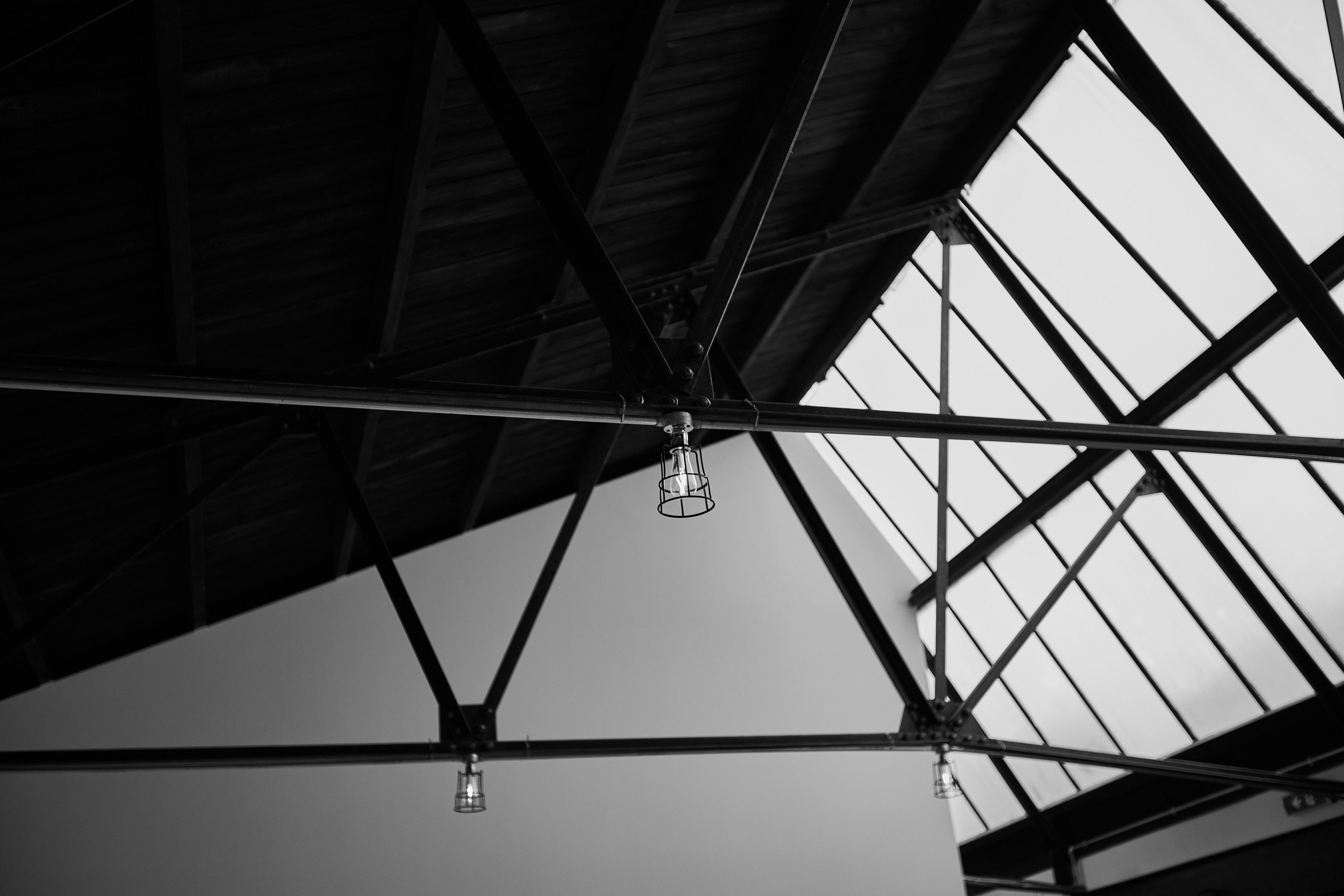 high wooden ceilings