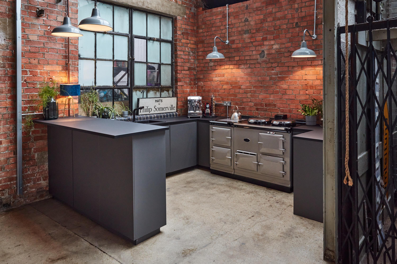 unique warehouse studio kitchen film location