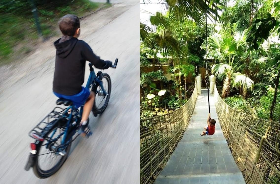 אומגה ואופניים לילדים בכפר הנופש